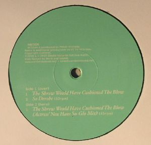 ORBISON, Joy - The Shrew Would Have Cushioned The Blow EP