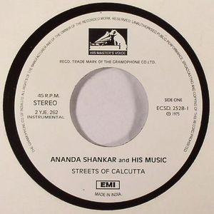 SHANKAR, Ananda & HIS MUSIC - Streets Of Calcutta