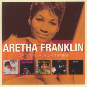 FRANKLIN, Aretha - Original Album Series (I Never Loved A Man The Way I Love You & Lady Soul & Aretha Now & Spirit In The Dark & Aretha Live At Fillmore West)