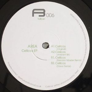AREA - Cellicos EP