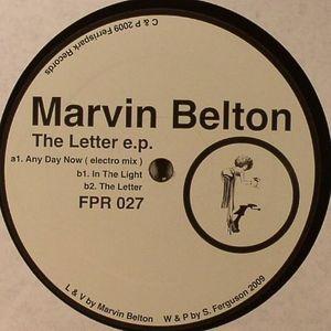 BELTON, Marvin - The Letter EP