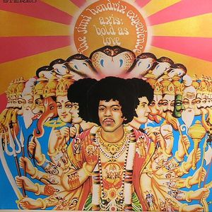 JIMI HENDRIX EXPERIENCE, The - Axis: Bold As Love (remastered)