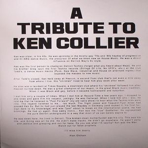 A TRIBUTE TO KEN COLLIER - Tell Me That I'm Dreamin