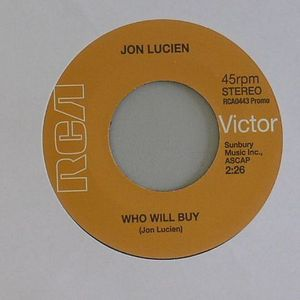 LUCIEN, Jon - Who Will Buy