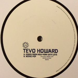HOWARD, Tevo - Kisses From New York With Love (Front Cover)