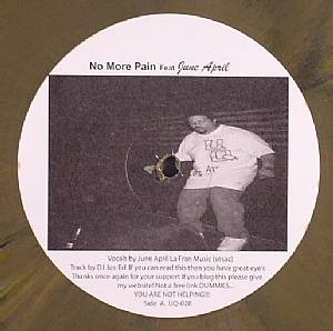 DJ JUS ED feat JUNE APRIL - No More Pain