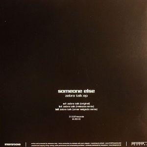 SOMEONE ELSE - Zebra Talk EP