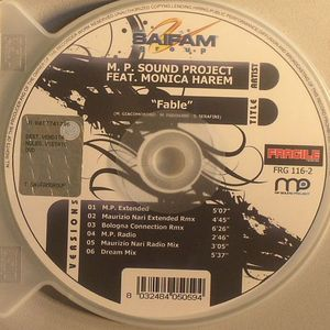 MP SOUND PROJECT feat MONICA HAREM - Fable