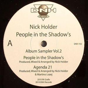 HOLDER, Nick - People In The Shadow's: Album Sampler Vol 2