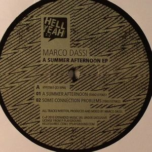 DASSI, Marco - A Summer Afternoon EP