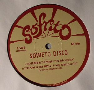 TEASPOON & THE WAVES/NZIMANDE ALLSTARS - Soweto Disco