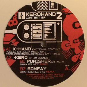 K HAND/KERO/PUNISHER/SOMFAY - Content EP