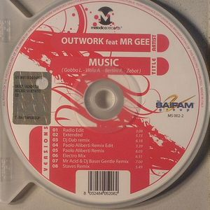OUTWORK feat MR GEE - Music