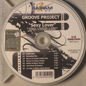 GROOVE PROJECT - Sexy Lover