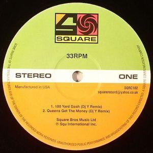 DJ YAKUZA/LACK OF AFRO/ANDY SMITH - Square Edits Volume 2 :100 Yard Dash