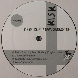 KISK feat ONEBOY - Phus1ony EP