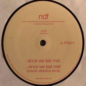 NDF - Since We Last Met