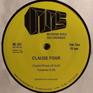 CLAUSE FOUR - Be The One EP