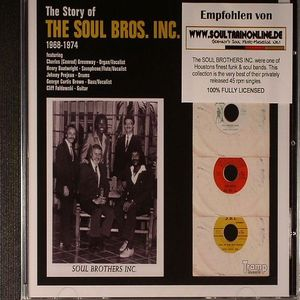 SOUL BROTHERS INC, The - The Story Of The Soul Brothers Inc
