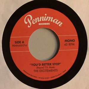 EXCITEMENTS, The - You'd Better Stop