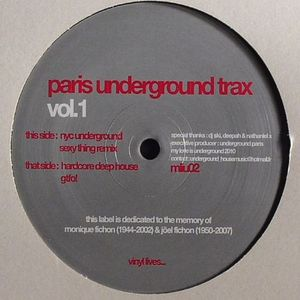 PARIS UNDERGROUND TRAX - Vol 1