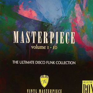 VARIOUS - Masterpiece Volume 1-10: The Ultimate Disco Funk Collection Collector's Box