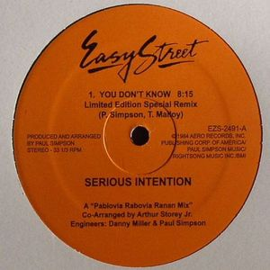 SERIOUS INTENTION/CULTURAL VIBE - You Don't Know