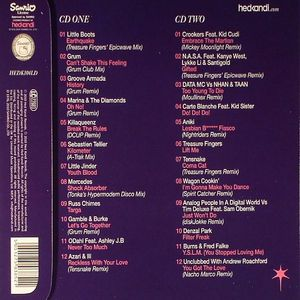 VARIOUS - Hed Kandi: Nu Disco: The Future Sound Of Disco (Hello Kitty Limited Edition)