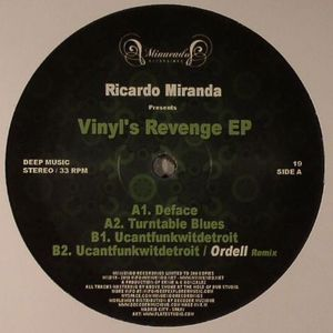 Ricardo Miranda - Vinyl's Revenge EP image