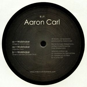 CARL, Aaron - Tribute To Aaron Carl (This release is in support of Aaron Carl. All profits go to Aaron Carl's family.)