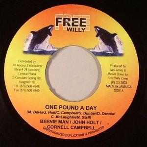 BEENIE MAN/JOHN HOLT/CORNELL CAMPBELL/KANANGA/LUCAN I - One Pound A Day (18 Yard Riddim)