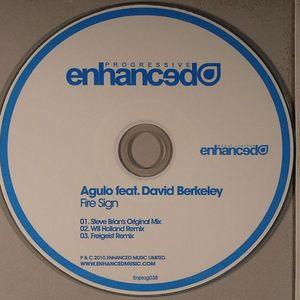 AGULO feat DAVID BERKELEY - Fire Sign
