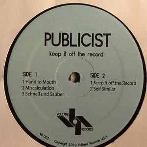 PUBLICIST - Keep It Off The Record