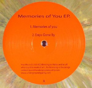 JAY, Owen/MELCHIOR SULTANA - Memories Of You EP