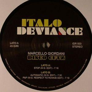GIORDANI, Marcello - Disco Cutz