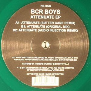 BCR BOYS - Attenuate EP