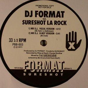DJ FORMAT feat SURESHOT LA ROCK - Mr DJ