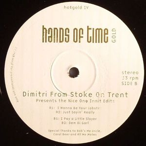 DIMITRI FROM STOKE ON TRENT (aka DIMITRI FROM PARIS) - The Nice One Innit
