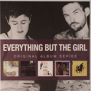EVERYTHING BUT THE GIRL - Original Album Series (Eden/Love Not Money/Baby The Stars Shine Bright/Idlewild/The Language Of Life)