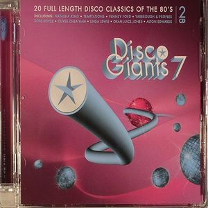 VARIOUS - Disco Giants Volume 7: 20 Full Length Disco Classics Of The 80's