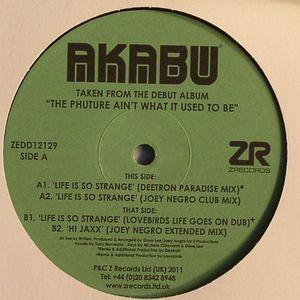 AKABU - Life Is So Strange EP