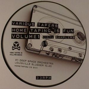 DEEP SPACE ORCHESTRA/ANDY ASH/NICHOLAS - Hometaping Is Fun Volume 1 Vinyl Sampler 2