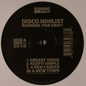 DISCO NIHILIST - Running (Far Away) (Front Cover)