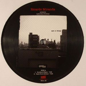 MIRANDA, Ricardo presents LATIN SOUL BROTHAS - Bomba Is Black EP