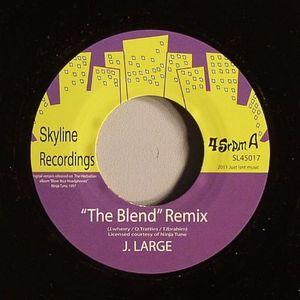J LARGE/DJ OLLIE TEEBA (aka THE HERBALISER) - The Blend