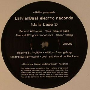 KODEK/IGORS VOROBJOVS/UHU/ASTROWIND - LatvianBeat Electro Records Compilation (Data Base 1)