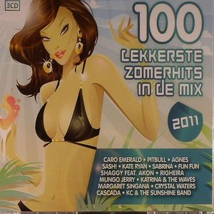 VARIOUS - 100 Lekkerste Zomerhits In The Mix 2011