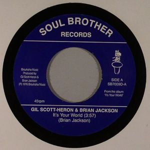SCOTT HERON, Gil/BRIAN JACKSON - It's Your World