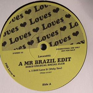 MR BRAZIL - Disco Unusual Social Club