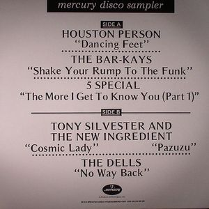 PERSON, Houston/THE BARKAYS/5 SPECIAL/TONY SILVESTER & THE NEW INGREDIENT/THE DELLS - Mercury Disco Sampler